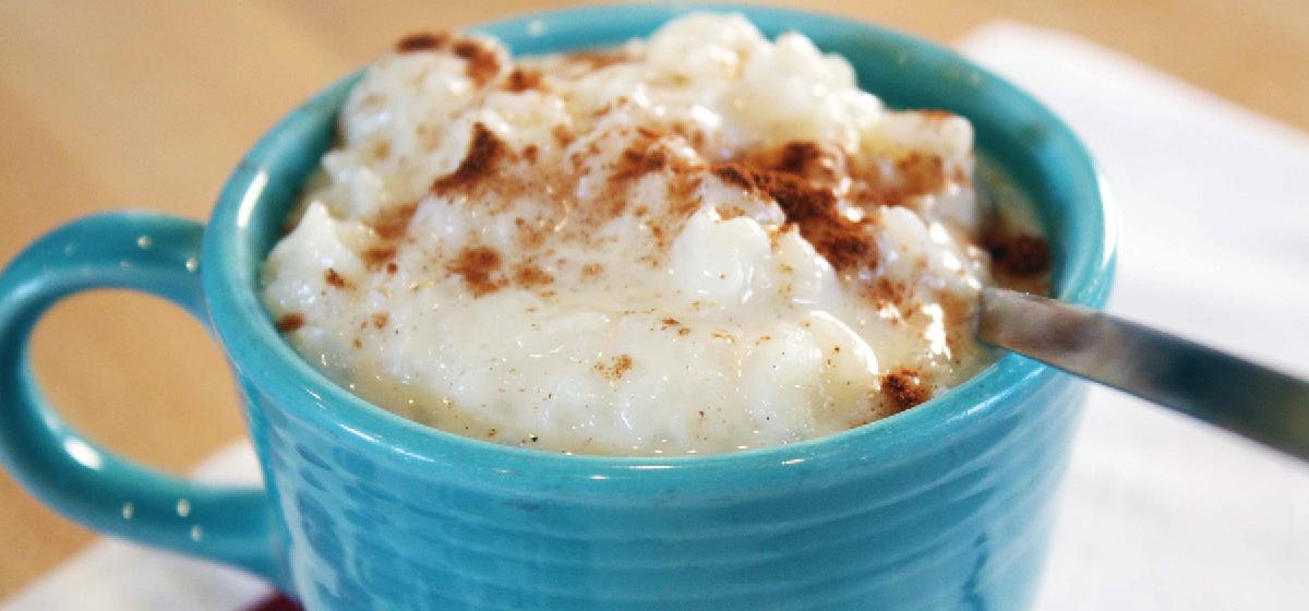 Пудинг риса рецепт с фото