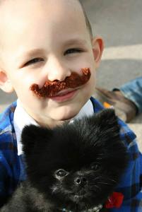 Community-Kid-Mustache-Dog