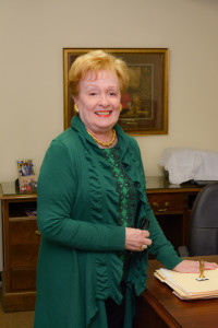 Gayle Laminack, president of the CSO Board of Directors