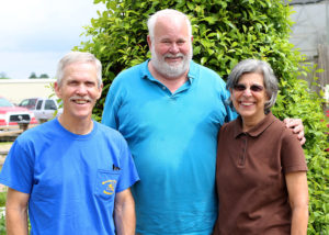 From Left: Mark Short, Kevin Smith, Josephine Smith