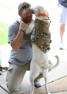 Service dogs, like Hope, help veterans manage post-traumatic stress