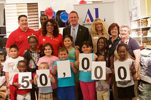 Operation School Bell® reached 50,000 students during summer of 2015
