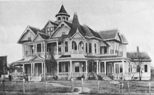 Sallie Gibbs Home, 1900 (Formerly Located on southeastern corner of 11th Street and Avenue M)