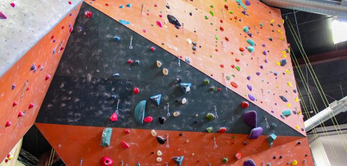 Just for Fun: Rock Wall Climbing
