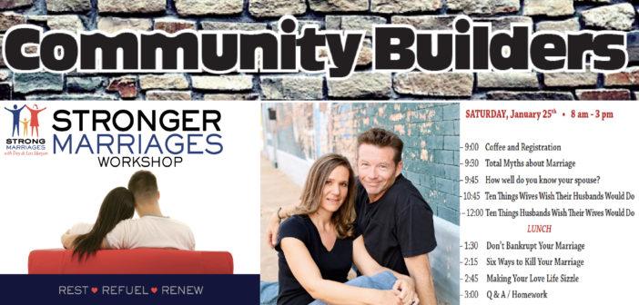 Community Builders: Stronger Marriage Workshop