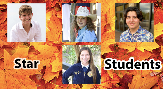 Star Students October