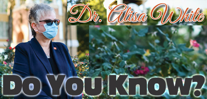 Do You Know? Dr. Alisa White